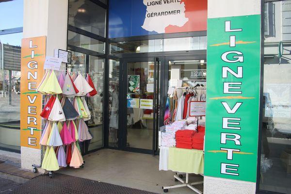 magasin d'usine de linge de maison dans les Vosges