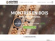 Montresbois.fr La montre en bois pour tous