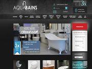 Aquabains baignoire balnéo pour toutes salle de bain